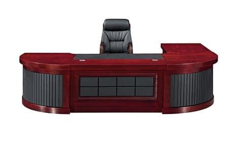 Platinum Executive Desk Veneer