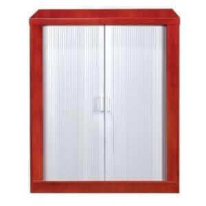 Silver Roller Door System Cabinet