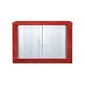 Silver Roller Door Credenza