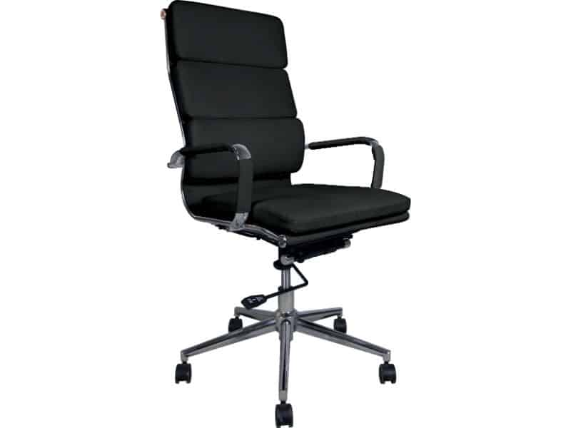 Classic Cushioned Office Chair