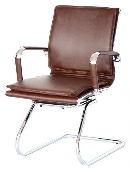 Classic Eames Flat Cushion Brown Colour