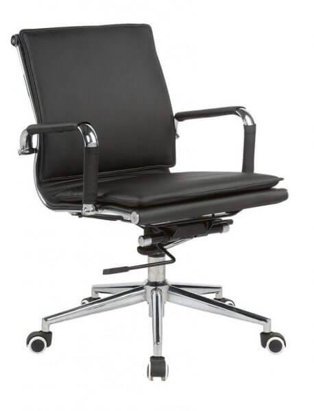 Classic-Eames-Flat-Cushion-Black-medium-back