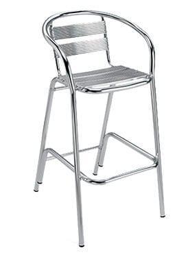Flamingo Aluminium Bar  Chair