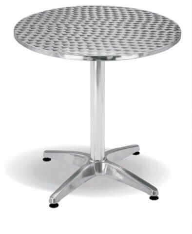 Jupiter Round Table – Aluminium table