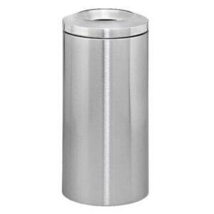 Stainless Steel ashtray bin long 2