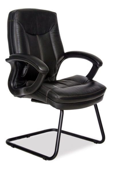 Stallion High Back Leather Chair