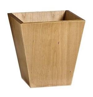 Wooden Waste Paper Bin