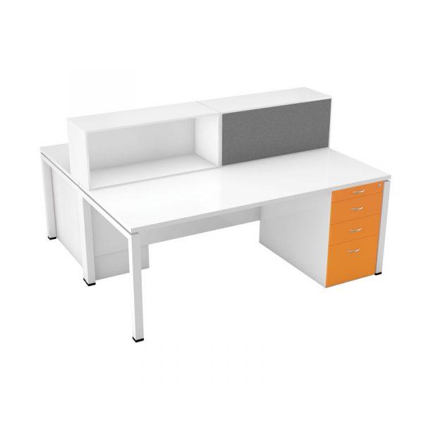 Britannica Dual Desk | Ca;; Centre Setup