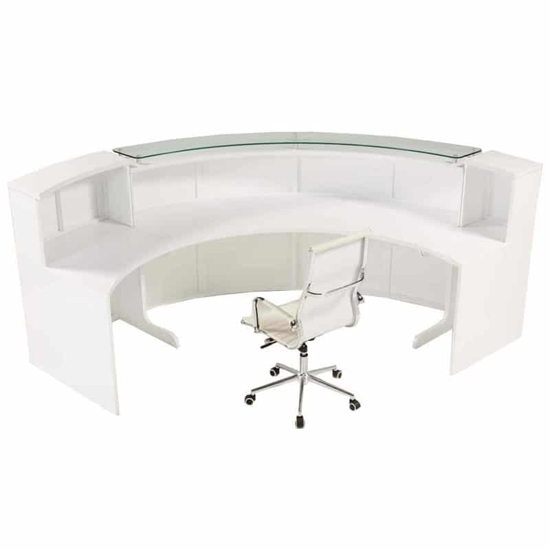 New Curved Reception Counter