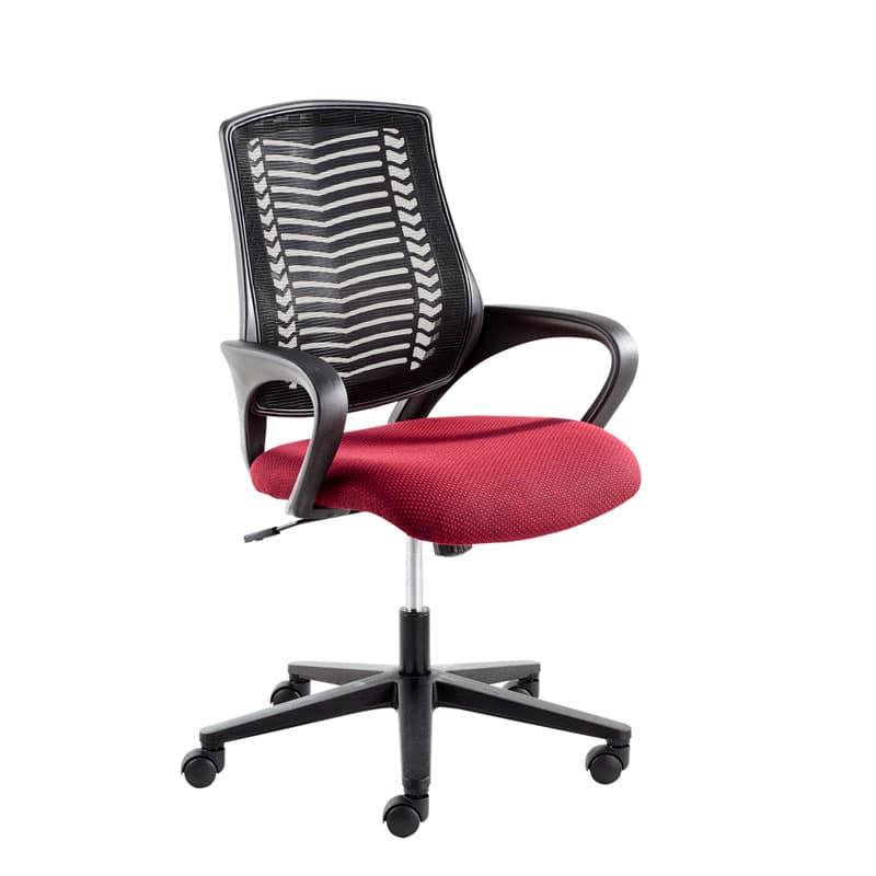 Soviet Pu Mesh Back Office Chair | Operators Chair