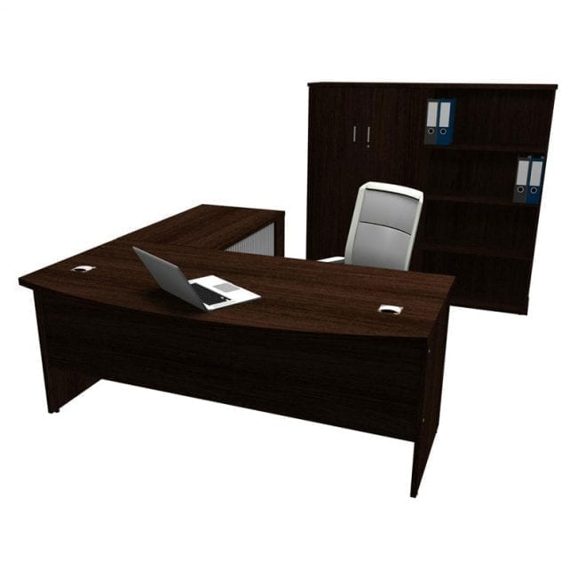 Discover Bow Front Desk