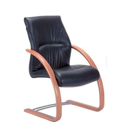 raggio wood visitors chair