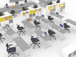Hieght Adjustable Desk-second-hand