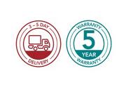 5 year warranty service