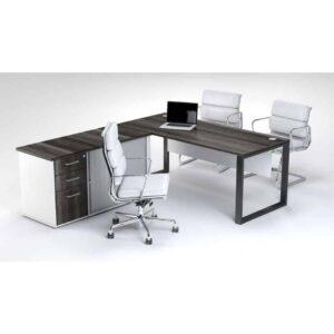 Black-squreframe-managerial-desk