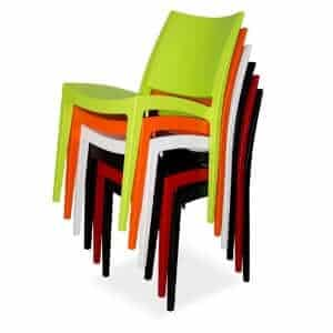 Libby Stackable Plastic Chair – HEAVY DUTY 180KG