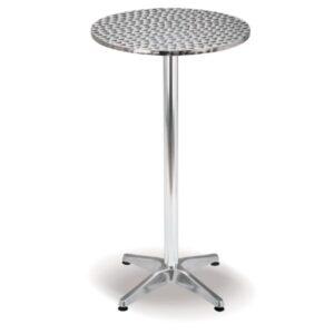 Diablo Aluminium Bar Table