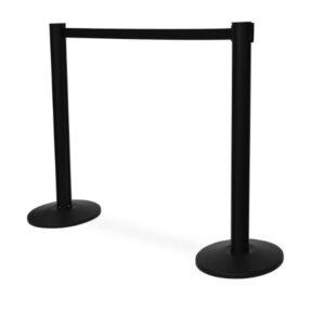 Queue Stands Black