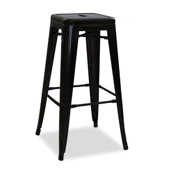Retro Steel Bar Chair – Matt Gold