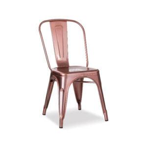 Retro Chair -Rose Gold