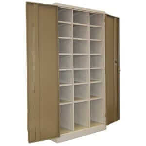 21 Compartment Pigeon Hole Stationery Cupboards