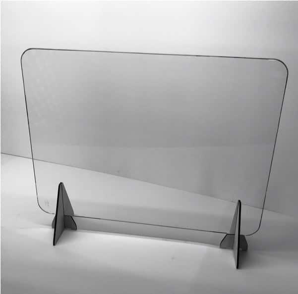 Glass Sneeze Screen
