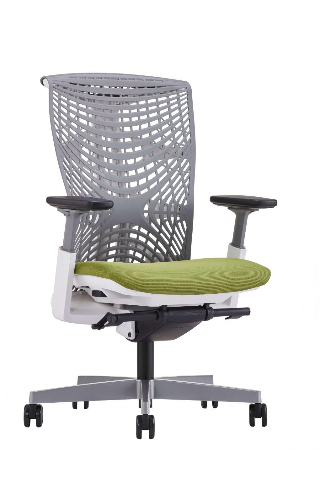 Merryfair Reya Lime Grey Ergo Chair scaled