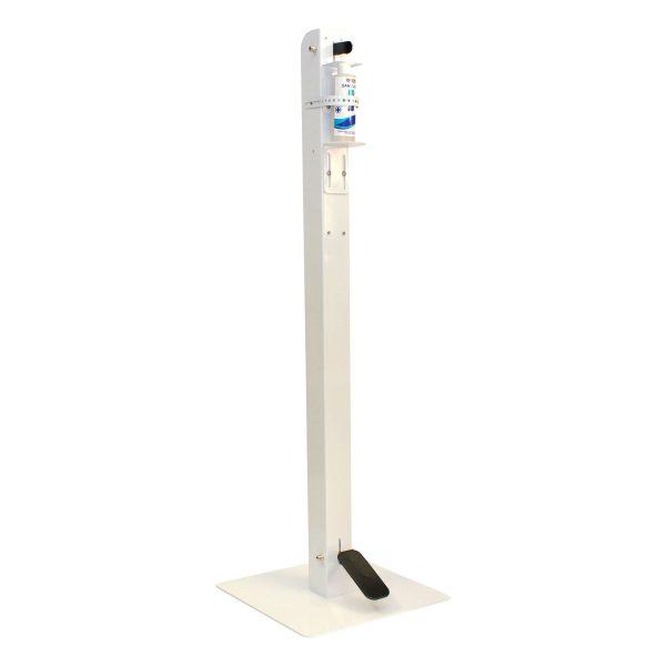 Free Standing Foot Operated Sanitation Dispenser