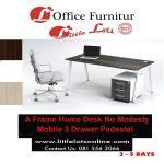 A Frame Home Office Steel Desk