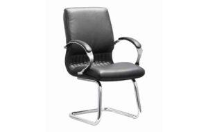 DB035B Sleigh Base Chrome Visitors Chair