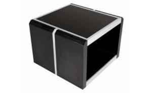 Mona Lisa Side Coffee Table Black Veneer