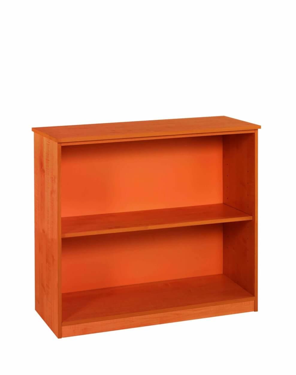 2 Tier Oppen Bookcase