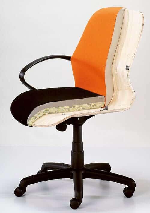 4X4 Heavy Duty Office Chair – High Back