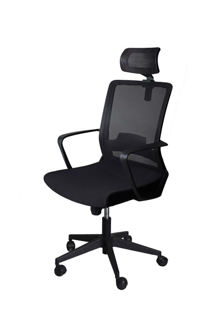 Swivel and Tilt Mesh Back High Back Office Chair