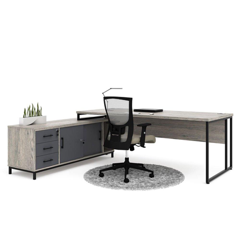 Turin Desk Cpu and Pedenza L Shaped Desk