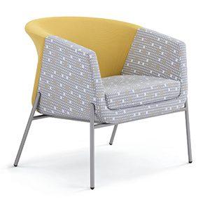 Phoenix Occasional Chair Chrome legs
