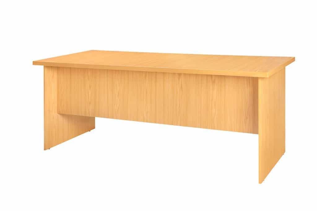 Super Computer Desk Oak