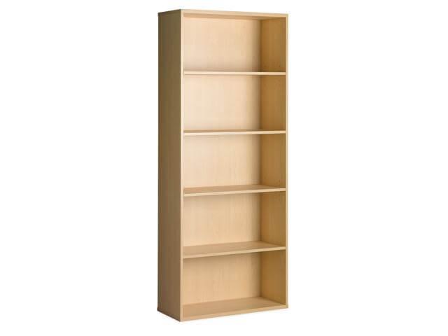 Super100 5 Tier Oppen Bookcase Shelves